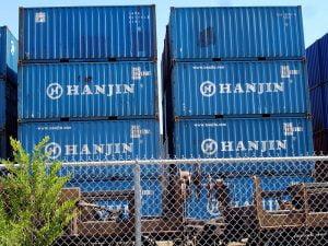 hanjinkaiun-container