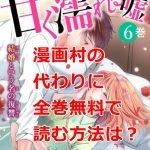 甘く濡れる嘘の最新刊6巻を無料で読む方法調査した!漫画村の代わりに全巻無料読めるのか?